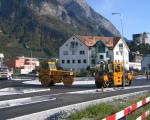 Strassenbau_Kreisel Balzers