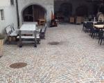 Pflästerungen_Gasthaus in Malans