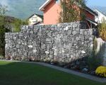 Pflästerungen_Gartenmauer EFH Grabs
