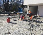 Pflästerungen_Vorplatz MFH Schaan