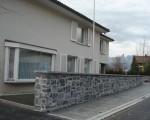 Gartenmauer EFH Vaduz