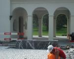 Vorplatz Mariahilf Kapelle Balzers